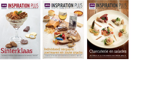 JAVA Foodservice magazines en folders